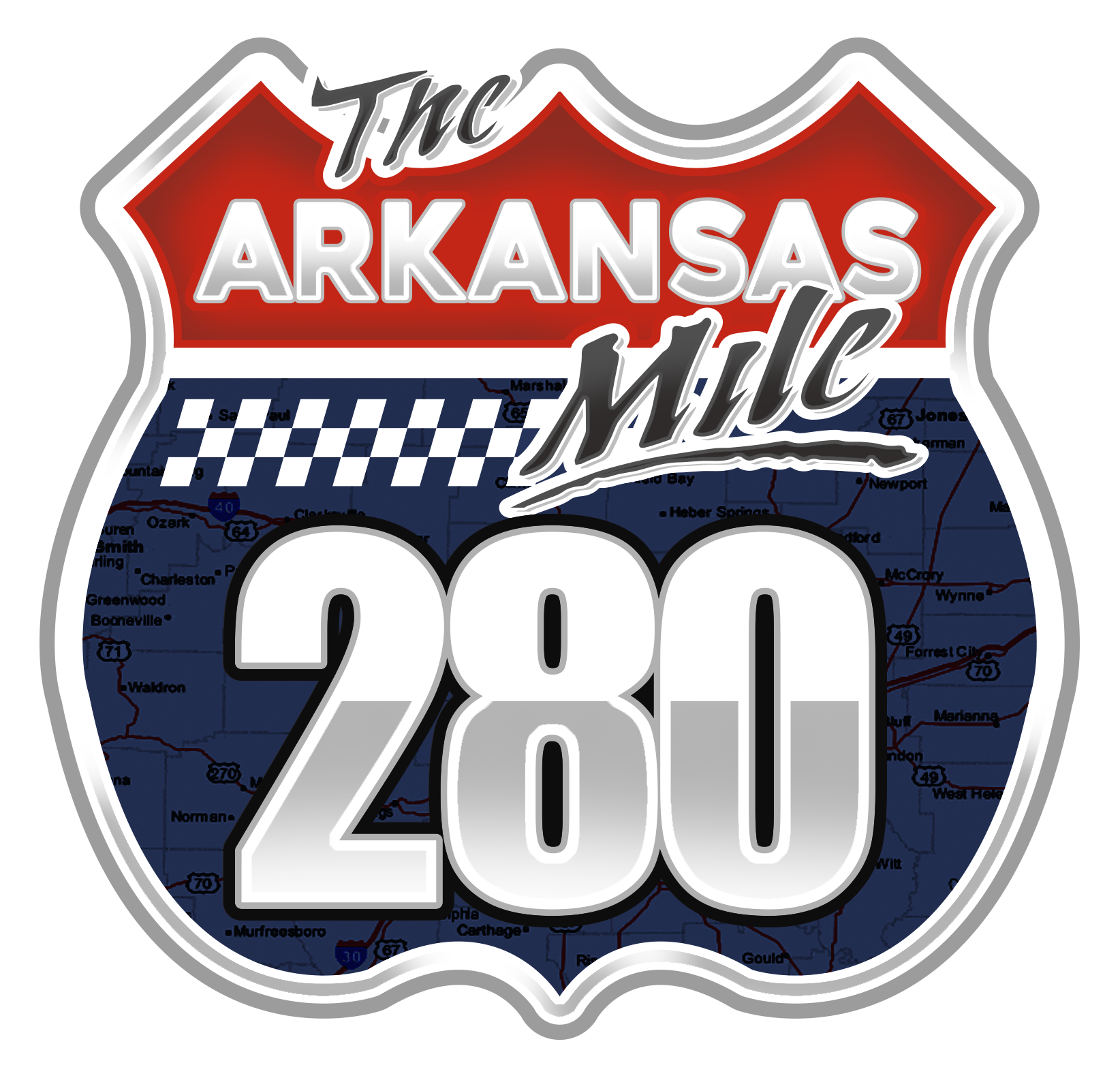 Arkansas Mile 280 logo