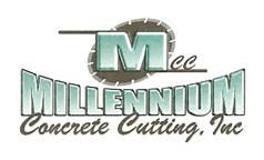Milleniumm Concrete Logo
