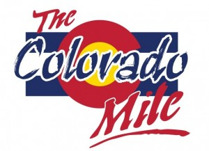 Colorado Mile Wording with Flag